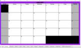 2018 Google Calendar