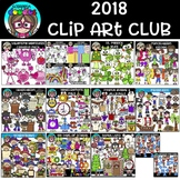 2018 Clip Art Club {72.00 Value}