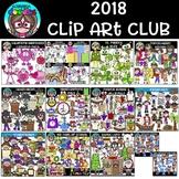 2018 Scrappin Doodles Clip Art Club {$73.75 Value}