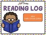 2018 Home Reading Log - Printable Calendar Template for NS
