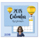 2018 Hot Air Balloon Calendar