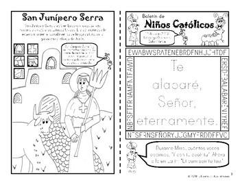 2018 Julio Boletín para Niños Católicos