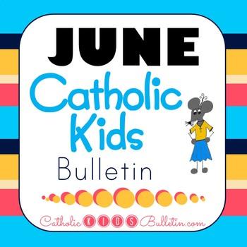 2018 June Catholic Kids Bulletins