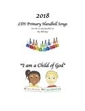 """2018 LDS Handbell book """"I am a Child of God"""""""