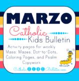2018 Marzo Boletín para Niños Católicos