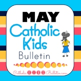 2018 May Catholic Kids Bulletins