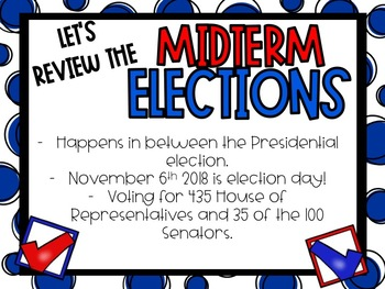 2018 Midterm Election PowerPoint