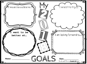 2018 New Year Goals!