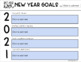 New Year Goals 2018