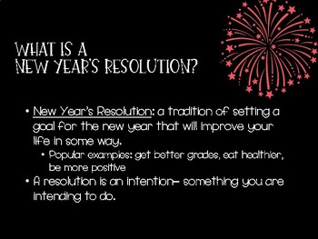 2018 New Year's Resolutions with SMART Goals!