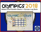 2018 Olympic Bulletin Board & Log Book