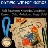 Winter Olympics 2018 Learning Fun FLIP BOOK!  A Student Favorite!
