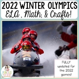 2018 Winter Olympics - Crafts, Nonfiction ELA, Math, Party Ideas, & More!