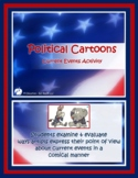 2018 Political Cartoons Activities, 3rd Edition