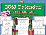 2018 Primary Calendar Christmas Gift