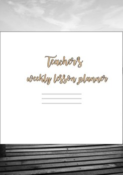 2018 Teacher Planner Cover Page - Bible - #AUSB2S18 #BacktoSchool #BTSdownunder
