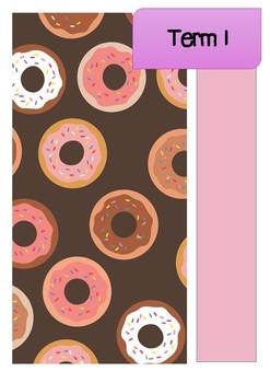 2018 Teacher Planner Cover Page - Doughnuts - #AUSB2S18 #BTSdownunder