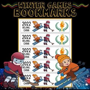 Winter Olympics 2018 Bookmarks
