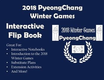 Winter Olympics 2018 Flip Book