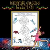 Winter Olympics 2018 Maze