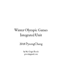 2018 PyeongChang Winter Olympic Integrated Unit