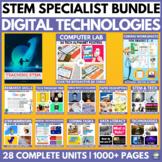 2018 STEM & DIGITAL TECHNOLOGIES & ICT SPECIALIST BUNDLE
