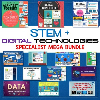 2018 STEM & DIGITAL TECHNOLOGIES & ICT SPECIALIST BUNDLE
