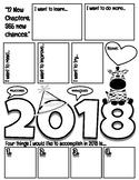 2018 Student Goal Setting Organizer