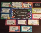 2021 Happy Teacher Appreciation Week Gift Tag Labels