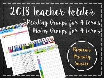 2018 Teacher Binder
