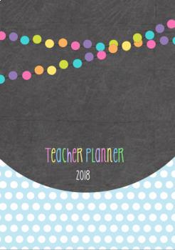 2018 Teacher Planner