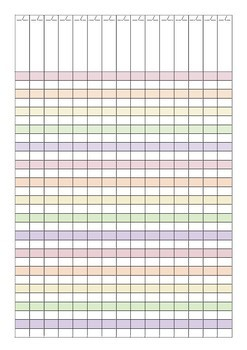 2018 Teacher Planner   Recording and Assessing   Striped Floral
