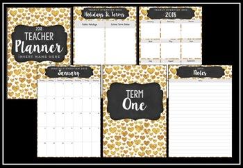 2018 Teacher Planner Version 1