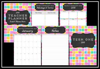 2018 Teacher Planner Version 2