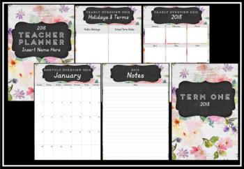 2018 Teacher Planner Version 4
