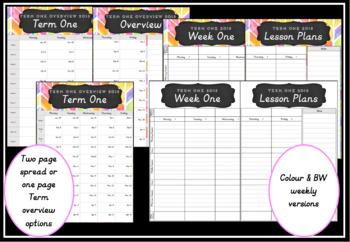 2018 Teacher Planner Version 6
