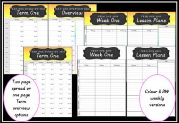 2018 Teacher Planner Version 7