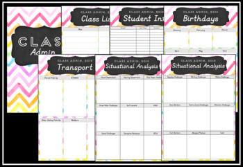 2018 Teacher Planner Version 8