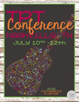 2018 TpT Conference Planner - Nashville