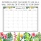 2018 Tropical Theme Teacher Diary Weekly Planner A4