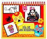 Art Calendar, 2018 Wall Calendar, Dia de los Muertos, Day of the Dead, Mexican