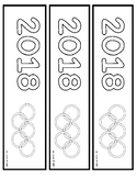 2018 Winter Games Bookmark