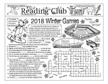 '2018 Winter Games in South Korea' Puzzle Set