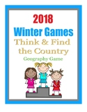 2018 Winter Games Think and Find the Country Geography Game