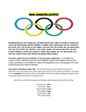 "2018 Winter ""Good Character"" Olympics: A Fun Way To Improv"