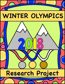 2018 Winter Olympics, Country Research Project