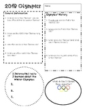 2018 Winter Olympic Exploration