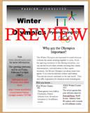 2018 Winter Olympic Games Nonfiction Text PyeongChang, Sou