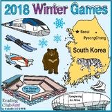 2018 Winter Olympic Games –  PyeongChang, South Korea – Puzzle Bundle