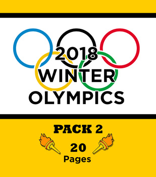 2018 Winter Olympics Activity Pack 2